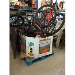 Skid of Bicycles - Store Returns