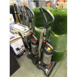 2 Eureka Upright Vacuums - Store Returns