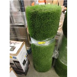 "40"" Wide Roll of Rubber Back Imitation Grass"