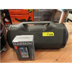 Garmin GPS & Monster Speaker - Store Return