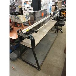 6 Foot Long Rolling Machine on Stand