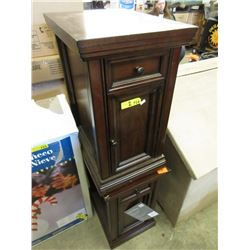 2 End Tables with Power - Store Return