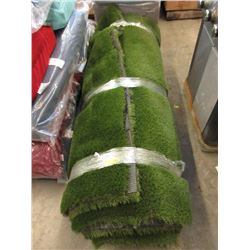 Large Roll of Rubber Backed Imitation Grass