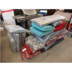20 Assorted Patio Furniture Cushions - Store Return