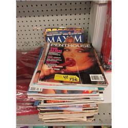 40 Gentleman's Magazines