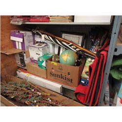 Shelf Lot of Assorted Goods