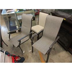 Dining Chair & 2 Patio Chairs - Store Returns