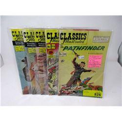 "5 Vintage ""Classics Illustrated"" 15¢ Comics"