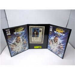 Autographed Mr. T Comic and Card Set