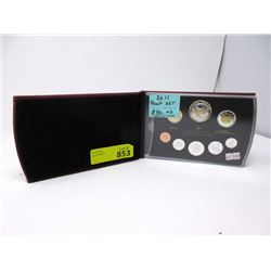 """2011 Canadian """"Parks Canada"""" .925 Proof Coin Set"""