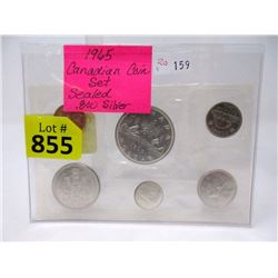 1965 Canadian Proof-Like .800 Silver Coin Set