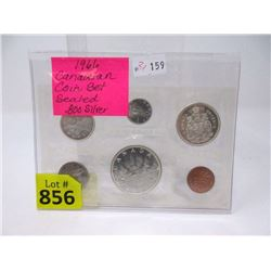 1966 Canadian Proof-Like .800 Silver Coin Set