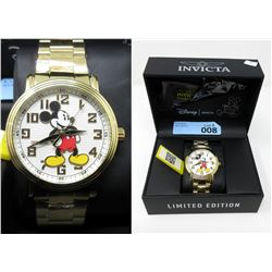 New in Box Invicta Mickey Mouse Watch