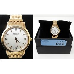 New Bulova Mother of Pearl & Diamond Watch