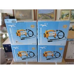 4 New Seagull 12 Volt 140 psi Air Compressors