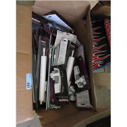 Large Box of New Door Closers, Latches, and more