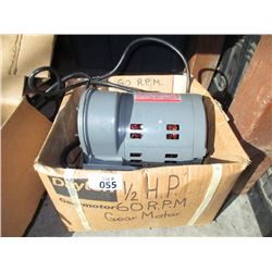 New 1/2hp Electric Motor