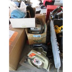3 Power Tools & 3 Boxes Safety of Equipment
