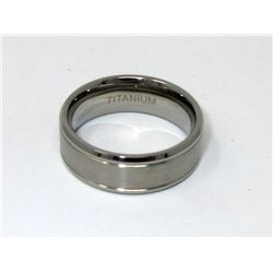 New Man's Titanium Band Ring