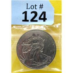 1 Oz. USA Mint .999 Fine Titanium Round