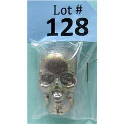 2.5 Oz Custom USA Mint .999 Bismuth Bullion Skull