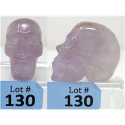 717.5 CT Carved Amethyst 3D Skull