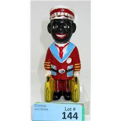 "5 1/2 "" Tall Cast Iron Black American Porter Bank"