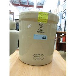 Medalta 3 Imperial Gallon Crock