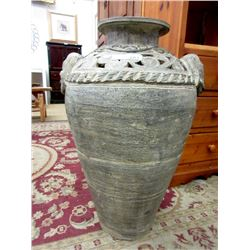 "Large Ceramic Floor Vase - 30"" Tall x 18"""