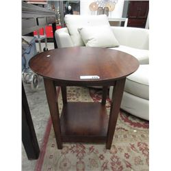 "Round End Table - 23"" Tall x 24"" Diameter"