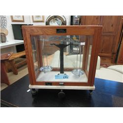 Vintage Analytical Scientific Beam Balance Scale