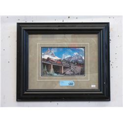 Max Jacquiard Framed CP Rail Train Print