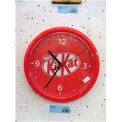 "10"" Kit Kat Chocolate Bar Clock"