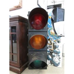 "42"" Commercial 3 Lens Traffic Light"