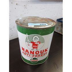 Vintage Castrol Nanouk Anti-Freeze Can