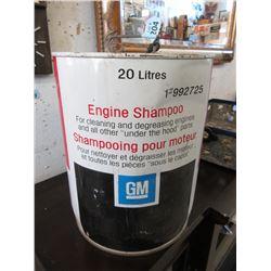 Vintage 20 Litre Esso Engine Shampoo Pail