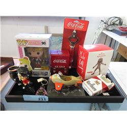 9 Betty Boop, Coca-Cola and Other Collectibles