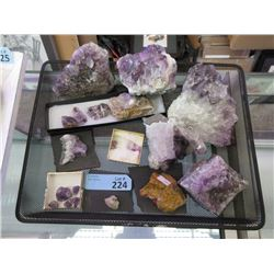 Amethyst and Other Rock Formations & Samples