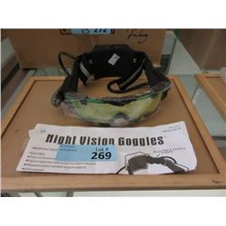 New Night Vision Goggles