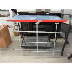 Rolling Shop Stand and 2 Rebar Window Grates