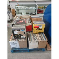 Skid of Assorted Vintage LP Records