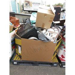 Skid of Assorted Household Goods - Store Returns