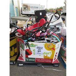 Skid of Bikes - Store Returns
