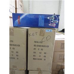 8 Cases of 12 New Rocket Ship CD Racks