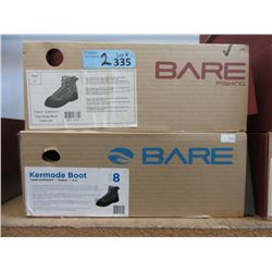 2 Pairs Mens New Bare Kermode Boots