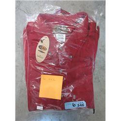 6 New Red Denim Shirts - 6 XXL