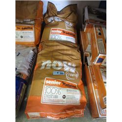 Two 25 lb. Bags of Senior Grain Free Dry Dog Food