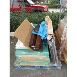 Skid of Assorted Furniture Parts - Store Return