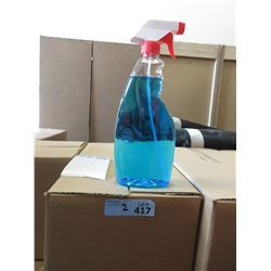 2 Cases of  Windex Glass Cleaner - No Labels