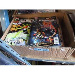 100 Assorted Comics Books